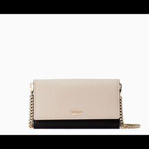 Kate Spade wallet chain crossbody